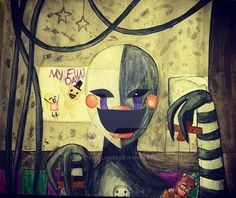 Five Nights At Freddy's 2 Puppet Master by WhiteWillow13