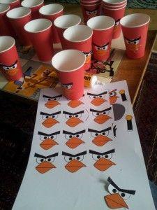 Angry Birds Geburtstag | Die Achse des Süßen