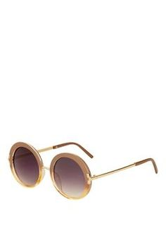 Lakota '60s Round Sunglasses