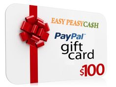 Win $100 Paypal cash direct to your Paypal account now.