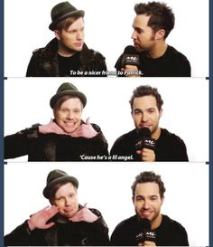 THIS WAS THE CUTEST THING IN THE WORLD OMG GUYS PATRICK YOU ANGEL YOURE KILLING MEEE