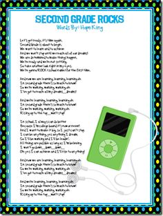 2nd grade song to BABY by Bieber  3rd grade song to WHAT MAKES YOU BEAUTIFUL by OneDirection