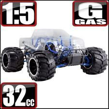 RedCat Racing Rampage PRO MT V3 1/5 Scale Gas RTR Monster Truck W/ Alum Upgrades