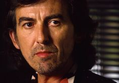 George Harrison  in 1987 photo by John Livzey / Getty Images