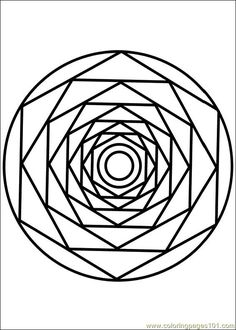Mandala Art Free Coloring Pages | ... Pages Mandala 086 (Other > Painting) - free printable coloring page