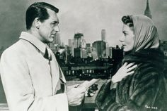 Still of Cary Grant and Deborah Kerr in An Affair to Remember