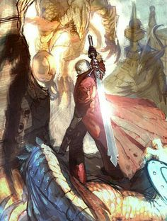 View an image titled 'Dante Concept Art' in our Devil May Cry 4 art gallery featuring official character designs, concept art, and promo pictures. Devil May Cry 4, Geeks, Art Sketches, Art Drawings, Character Art, Character Design, Character Concept, Ssj3, Cult