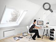 Comfort en het juiste daglicht voor de werkkamer | VELUX  Doe meer inspiratie op via www.velux.nl # VELUX