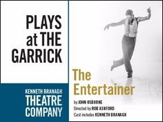 Kenneth Branagh dances in Olivier's shoes in The Entertainer