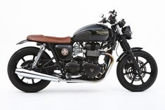 Ellaspeed Triumph Bonneville - black and brown.