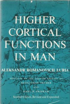 Higher Cortical Functions in Man, 2nd Edition: LURIA: 9780465029600: Amazon.com: Books