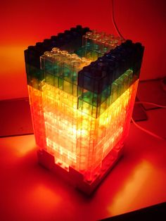 Lego Lamp, I want to make this for lucas