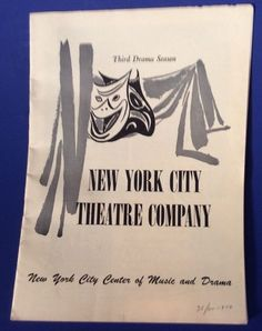 Vtg Program Playbill New York City Theater Company The Devils Disciple 1950 NYC | eBay