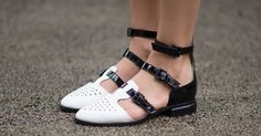 You can thank Armani for these sporty, cutout sandals.
