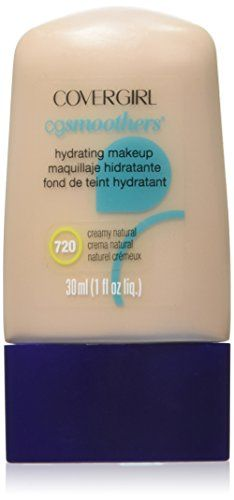CoverGirl Smoothers All Day Hydrating Make-Up, Creamy Natural - 1 fl oz. CoverGirl Smoothers All Day Hydrating Make-Up, Creamy Natural 1 fl oz. Covergirl, All Natural Makeup, No Foundation Makeup, Sensitive Skin, Make Up, Skin Care, Image Link, Nature, Beauty