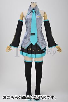 Cosplay, Vocal series costume set. yen:12,800 http://www.assist-wig.com/category/339