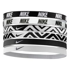 Nike Sport Headbands (750 PHP) ❤ liked on Polyvore featuring accessories, jewelry, bracelets, hair accessories and nike