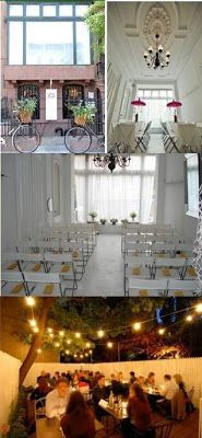 The Fabulife: Great reception sites for cheap wedding in New York: Part 1, Brooklyn