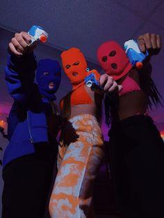 Girl Gang Aesthetic, Badass Aesthetic, Rapper Wallpaper Iphone, Pink Wallpaper Iphone, Badass Halloween Costumes, Fille Gangsta, Thug Girl, Bad Girl Wallpaper, Gangster Girl