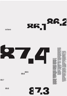 8vo. Eight Five Zero Publishing, folding poster for Octavo, 1987. From 8vo On the Outside, Lars Müller, 2005