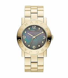 Amy 36.5MM Marc Jacobs Gold watch.