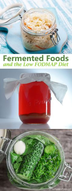 Fermented Foods and The Low-FODMAP Diet @WellnessPathAus
