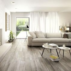 66 reference of Flooring Wood look tile living room Flooring Wood look tile living room- Light Grey Wood Floors, Grey Wooden Floor, Grey Wood Tile, Wood Tile Floors, Wood Look Tile, Laminate Flooring, Grey Flooring, Wood Planks, Grey Tiles