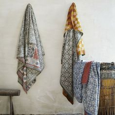 Gorgeous throws from toast.co.uk. Perfect for the bed, the sofa or just hanging on the wall.