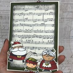 "Coul'Heure Papier: ""Carte Surprise * Magie de Noël"" [Tutoriel] Christmas Cards 2018, Stamped Christmas Cards, Xmas Cards, Christmas Crafts, One Sheet Wonder, Stampin Up, Card Tutorials, Winter Holidays, Stuff To Do"