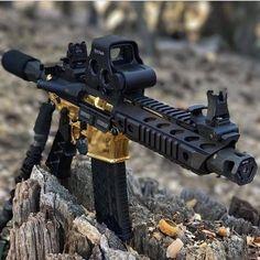 Airsoft Guns, Weapons Guns, Guns And Ammo, Ar Pistol Build, Ar15 Pistol, Ar Build, Armas Airsoft, Armas Wallpaper, Submachine Gun