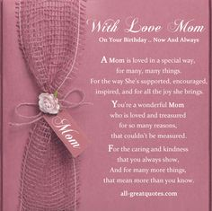 Free Birthday Cards For Mom