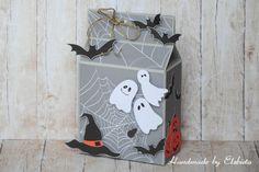 halloween; halloween box; papers; craft; scrapbooking; handmade Halloween Halloween, Boxes, Scrapbooking, Paper, Blog, Handmade, Crafts, Crates, Hand Made