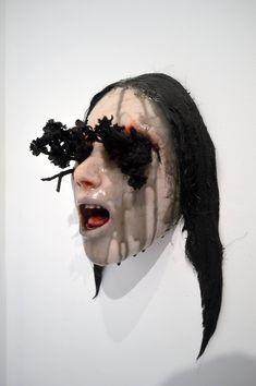 Discomfort and Beauty: Dark Sculptures by Colin Christian (NSFW). http://illusion.scene360.com/art/87465/colin-christian/ #shockart #disturbing