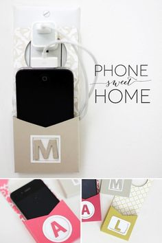 A phone charging holder!! Brilliant