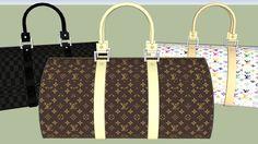 Louis Vuitton Suitcase - 3D Warehouse