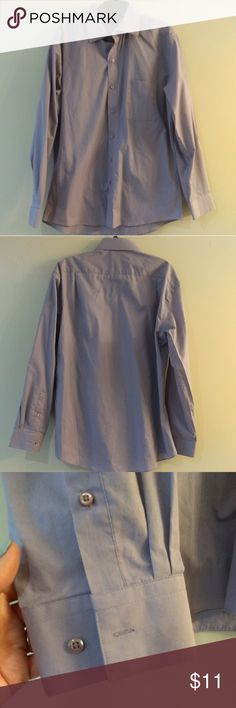 """Men's lavender dress shirt by J. Ferrar Men's lavender button down one pocket dress shirt by J. Ferrar.  Excellent used condition. Neck measures 16"""" and arms measure 34"""". j. ferrar Shirts Dress Shirts"""