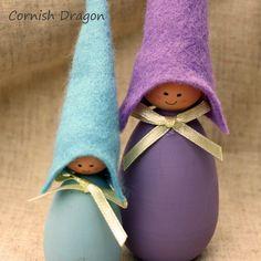 Cornish Pixie Elves The Lavender Elves by CornishDragon on Etsy, £12.00