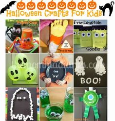 """My """"Mike"""" was featured on The Momma Diaries! #Halloween #Crafts for kids"""
