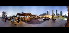 Basrati Beach Bar, Le Royal Meridien Beach Resort and Spa Hotel in Dubai.