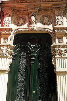Porte néo-renaissance, Paris -by ferlosio