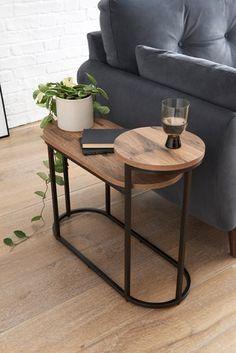 Side Table Decor, Table Decor Living Room, Sofa Side Table, Home Living Room, Round Metal Side Table, Modern Side Table, Small Side Tables, Narrow Side Table, Metal Table Legs