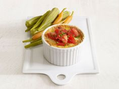 Corn and Tomato Spoonbread #RecipeOfTheDay