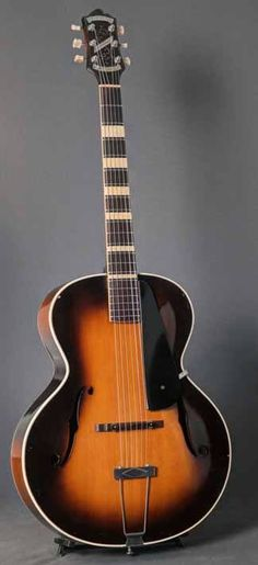 Vintage 1934 Epiphone Broadway Archtop Guitar