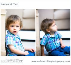 James at Two - a very cute toddler