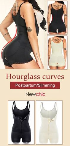 2ac24be34 Plus Size Bodysuits Latex Hip Lifting Open Crotch S Curves Shapewear For Postpartum  Slimming Sports