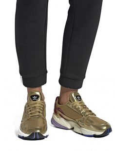 new styles 68893 80cdc Falcon Shoes, In Gold from adidas