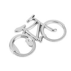 Bonito Moda bicicleta metal chaveiro abridor de garrafas de cerveja Giro bike bicicleta Amante chaveiros para Casamento festa de aniversário DOM