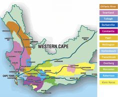 A map of the regions to help you get your bearings. I met some winemakers from Swartland last week. South African Holidays, South African Wine, Beaufort West, Sa Tourism, Different Wines, Africa Map, In Vino Veritas, Wine Drinks, Countries Of The World