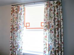 add ribbon to roller shades