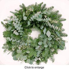 Highland Christmas Wreath 22 in---Sale: $59.99